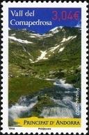 ANDORRA FRANCESA 2007 - VALL DEL COMAPEDROSA - 1 SELLO - Ongebruikt
