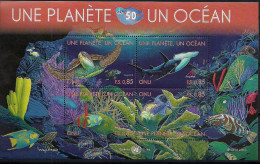 2010 UNO Genf Mi. Bl 27 **MNH  Ein Planet, Ein Ozean - Neufs