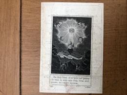 Soeur Marie Therese Waefelaerts *1800 Bruxelles +Braine L'Alleud Couvent Sœurs De Marie à Braine-L'Alleud - Décès