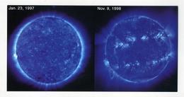 CP Neuve. Montée De L'activité Solaire Du 23 Janvier 1997 Jusqu'à Apparition Ceinture Royale 2 Ans Plus Tard - Astronomia