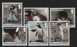 British Antarctic Territory / BAT - 2016 - N°Yv. 686 à 691 - Manchots - Complete Set - Neuf Luxe ** / MNH / Postfrisch - British Antarctic Territory  (BAT)