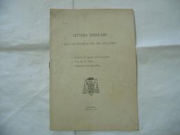 LETTERA CIRCOLARE GIUBILEO DEL DOGMA FESTE DEI SS.MAGI ADUNANZA MILANO 1903. - Religion