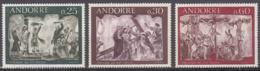 Andorre 191 à 193 ** - Frans-Andorra