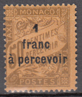 Andorre TX 17 * - Postage Due