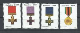 ZIMBABWE  YVERT  530/33    MNH  ** - Zimbabwe (1980-...)