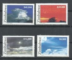 ZIMBABWE  YVERT  564/67     MNH  ** - Zimbabwe (1980-...)