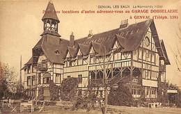 Genval Les Eaux - Normandy Hôtel - Publicité Garage Dobbelaere - La Hulpe