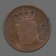 Pays Bas. 1 Cent 1822 (755) - [ 3] 1815-… : Royaume Des Pays-Bas