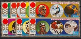 Guinée  équatoriale - 1972 - N°Mi. 27 à 33 - Sapporo / Olympics - Neuf Luxe ** / MNH / Postfrisch - Equatoriaal Guinea