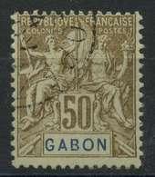 Gabon (1904) N 28 (o) - Oblitérés