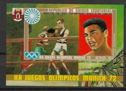 Guinée  équatoriale - 1972 - N°Mi. Bloc 14 - Boxe / Boxing / Muhammad Ali / Clay - Neuf Luxe ** / MNH / Postfrisch - Equatoriaal Guinea