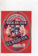 87 - SAINT YRIEIX LA PERCHE-ST YRIEIX- RARE ETIQUETTE BRASSERIE G.C. HOLDERER BOCK AREDIEN-EXPOSITION BRUXELLES 1935- - Levensmiddelen
