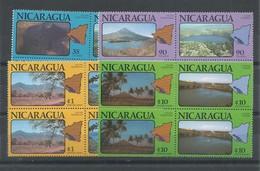 NICARAGUA  YVERT  AEREO  918/25   (PAREJA)     MNH  ** - Nicaragua