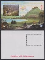 VISEGRÁD Danube Fortress Castle 2009 Stamp Exhibition Day HUNGARY MABÉOSZ Philatelists Commemorative Sheet Block - Commemorative Sheets