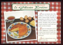 CPM Neuve Recette De Cuisine Le Gâteau Breton - Ricette Di Cucina