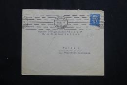 """ALLEMAGNE - Enveloppe De Berlin En 1930 Pour Paris ( Agence Télégraphique """" Radio """" ) -  L 62023 - Storia Postale"""