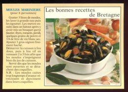 CPM Neuve Recette De Cuisine Les Moules Marinières - Ricette Di Cucina