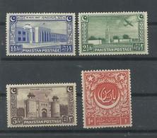 PAKISTAN  YVERT   20/23     MH  * - Pakistan