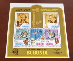 Burundi - 1977 - N°Mi. Bloc 100 - Téléphone - Neuf Luxe ** / MNH / Postfrisch - Burundi