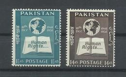 PAKISTAN  YVERT   100/101   MNH  ** - Pakistan