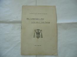 DOPO IL PELLEGRINAGGIO DI ROMA E PRIMA VISITA PASTORALE MILANO 1903 - Religion