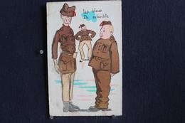 JA 217 - Humour - Militaires - Les Bleux - De Schachte - Pas Circulé - Humor