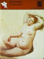 MONTAUBAN -  Musée Ingres-Bourdelle - Photo Odalisque D'après Ingrès  - FICHE GEOGRAPHIQUE - Ed. Larousse-Laffont - Drawings