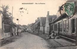 80. N°206111. Méharicourt. Rue De Rosières. Pas Courante - Autres Communes