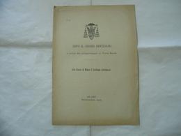 DOPO IL SINODO DIOCESANO PELLEGRINAGGIO IN TERRA SANTA MILANO 1902 - Religion