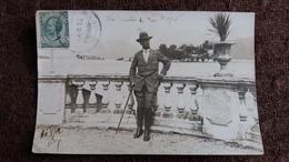 CPA PHOTO DU LAC MAJEUR HOMME BIEN HABILLE PLANTE 1912 UN MULATRE - Other Cities