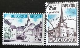 België - Belgique - (o)used - Ref B1/13 - 1972 - Michel Nr 1691#1692 - Toeristische Uitgifte - Belgien