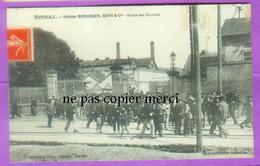 EPINAL - Usines Boeringer Guth Et Cie - Sortie Des Ouvriers - Epinal