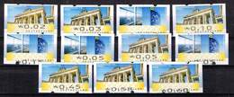 Bund 2008,Michel# ATM 6 + 7 ** Porto 2,18 € - [7] Federal Republic