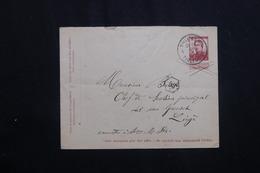 BELGIQUE - Entier Postal De Thienen Pour Liège En 1914 -  L 62031 - Stamped Stationery