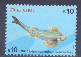 1993.  Nepal, Fish, 1v, Mint/** - Nepal