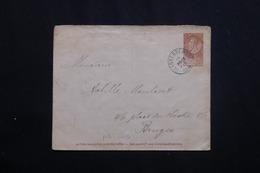 BELGIQUE - Entier Postal De Blankenberghe Pour Bruges En 1894 -  L 62032 - Stamped Stationery