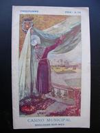 Programme CASINO Municipal BOULOGNE SUR MER 1925 Nombreuses Publicités Locales Couverture : A. LEPETIT - Programme
