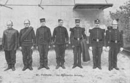 20-8068 : POMPIERS. DIFFERENTES TENUES. - Sapeurs-Pompiers