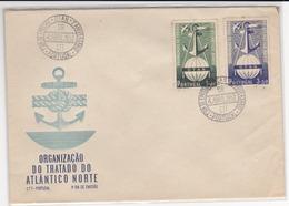Portugal -1952  -3º Aniversário  OTAN 1º Dia De Circulação - FDC