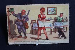 JA 219 - Humour - RAP - La Chasse A été Bonne, Monsieur Fernand ?  Oui ; Mais Ce Soir... Circulé 1971 - Humor