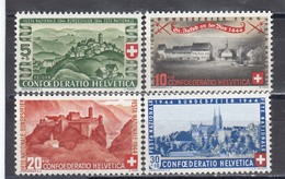 Switzerland 1944 - Pro Patria, Mi-Nr. 431/34, MNH** - Neufs