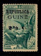 ! ! Portuguese Guinea - 1913 Vasco Gama On Macau 2 1/2 C - Af. 124 - MH - Portuguese Guinea