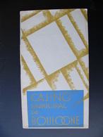 Programme CASINO Municipal BOULOGNE SUR MER 1927 Nombreuses Publicités Locales Céramiques Desvres Citroën Talbot - Programs