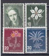 Switzerland 1946 - Pro Juventute, Mi-Nr. 465/68, MNH** - Neufs