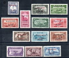 Alaouites Y&T 22* - 34* - Alaouites (1923-1930)