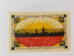 Allemagne Notgeld Schmolln 75 Pfennig - Collections