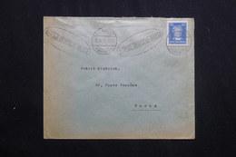 ALLEMAGNE - Enveloppe Commerciale De Frankfurt En 1927 Pour Paris Affranchissement Plaisant Perforé -  L 62041 - Storia Postale