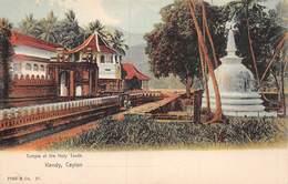 20-8081 : KANDY. CEYLAON. TEMPLE OF THE HOLY TOOTH. - Sri Lanka (Ceylon)