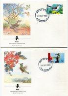 GRENADE ENVELOPPES 1er JOUR DES N°1929/1932 OISEAUX OBLITERATION GRENADA 10 SEP 1990 - Grenada (1974-...)