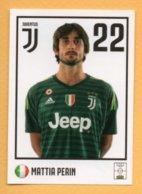 Figurina 2018-19 Official Sticker Collection N° 14, Juventus, Mattia Perin - Trading Cards